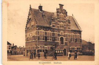 Ansichtkaart Klundert Stadhuis 1929 Moerdijk HC17217