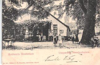 Ansichtkaart Arnhem Uitspanning Monnikenhuizen 1903 HC17223