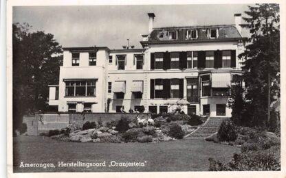 Ansichtkaart Amerongen Herstellingsoord Oranjestein 1951 HC17238