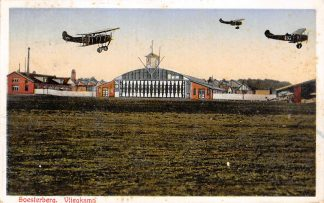 Ansichtkaart Soesterberg Vliegkamp Fokker Vliegtuigen 1933 Vliegveld Luchtvaart Soest HC17245