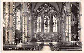 Ansichtkaart Vianen Interieur R.K. kerk 1941 HC17250