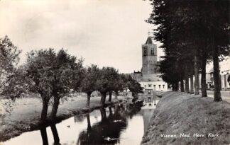 Ansichtkaart Vianen Ned. Hervormde Kerk 1957 HC17251