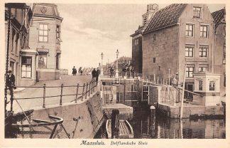 Ansichtkaart Maassluis Delflandsche Sluis HC17256