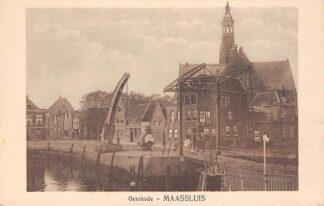 Ansichtkaart Maassluis Geerkade HC17277
