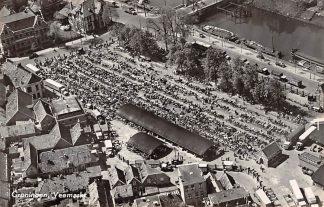Ansichtkaart Groningen Veemarkt 1955 KLM Luchtfoto no. 30409 HC17287