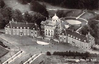 Ansichtkaart 's-Gravenhage Huis ten Bosch 1954 KLM Luchtfoto no. 18116 HC17308