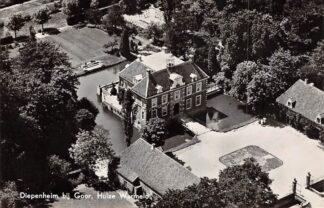 Ansichtkaart Diepenheim bij Goor Huize Warmelo 1956 KLM Luchtfoto no. 5817 HC17314