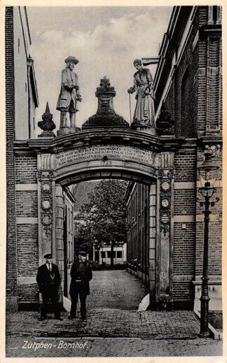Ansichtkaart Zutphen Bornhof 1937 HC17321