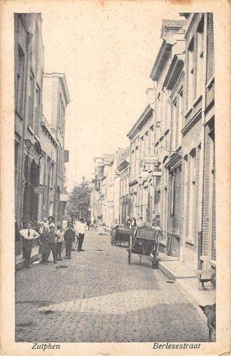 Ansichtkaart Zutphen Berlezestraat 1927 HC17341
