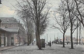 Ansichtkaart Maassluis Burgem. d. Jonghkade met sleepboten 1919 Binnenvaart schepen Scheepvaart HC17344