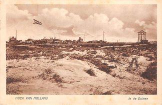 Ansichtkaart Hoek van Holland In de Duinen Semafoor Vliegtuig 1923 HC17350