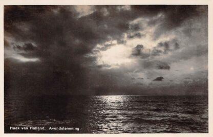 Ansichtkaart Hoek van Holland Avondstemming Zee HC17351