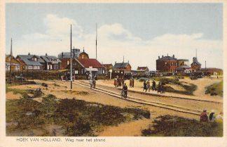 Ansichtkaart Hoek van Holland Weg naar het strand HC17363