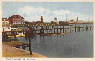 Ansichtkaart Hoek van Holland Berghaven Vuurtoren Semafoor Scheepvaart HC17364