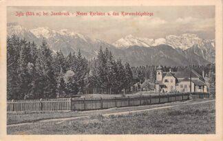 Ansichtkaart Zwitserland Igls bei Innsbruck Neues Kurhaus u. das Karwendelgebirge 1912 Schweiz Suisse Switzerland Europa HC17382