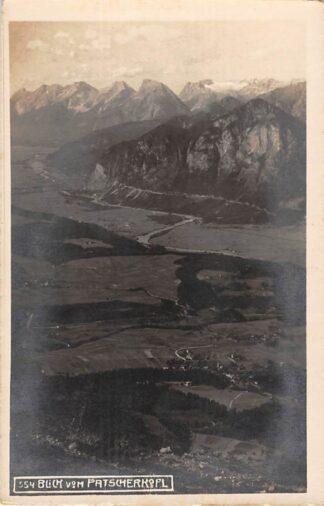 Ansichtkaart Zwitserland Blick von Patscherkofel Hausberg Innsbruck Fotokaart Suisse Schweiz Switzerland Europa HC17396