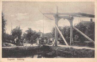 Ansichtkaart Zegveld Valbrug 1929 Woerden HC17424