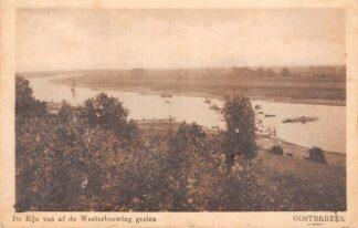 Ansichtkaart Oosterbeek bij Arnhem De Rijn van af de Westerbouwing te zien 1926 HC17438