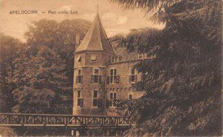 Ansichtkaart Apeldoorn Kasteel Het oude Loo Kon. Park 1926  HC17447