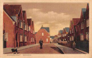 Ansichtkaart Schagen Magnusstraat 1927 HC17457