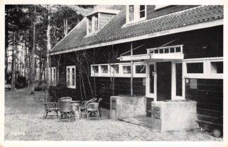 Ansichtkaart Leusden Ingang Clubhuis Ingeborg 1950 HC17460