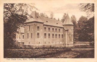 Ansichtkaart Apeldoorn Kasteel Het Oude Loo Kon. Park 1933 HC17461