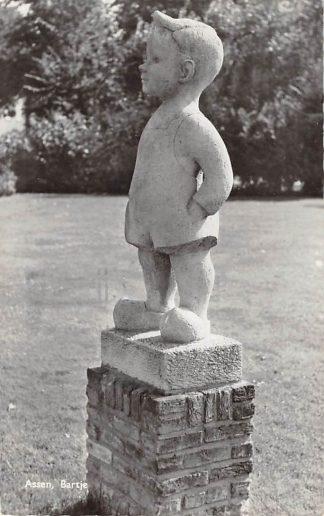 Ansichtkaart Assen Monument Bartje 1959 HC17469