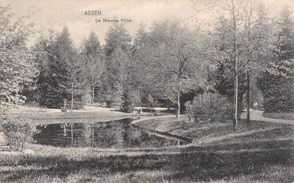 Ansichtkaart Assen De Nieuwe Vijver HC17472