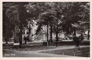 Ansichtkaart Assen Brink 1950 HC17480