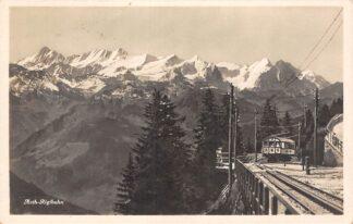 Ansichtkaart Zwitserland Arth-Rigi bahn ARM met trein 1939 Spoorwegen Schweiz Suisse Switzerland Europa HC17493