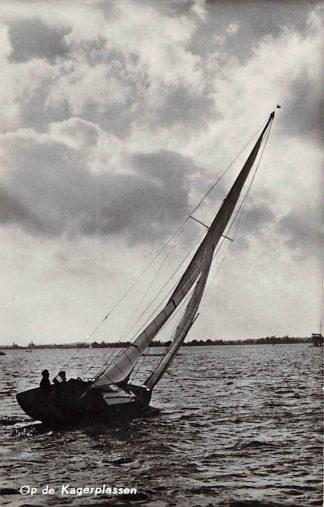 Ansichtkaart De Kaag Zeilen op de Kagerplassen 1967 HC17509