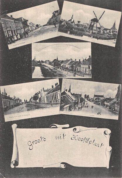 Ansichtkaart Hoofdplaat Sluis (ZL) Vijfluik met molen Zeeuws-Vlaanderen HC17512