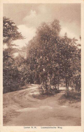 Ansichtkaart Laren (NH) Leemzoolsche Weg HC17518