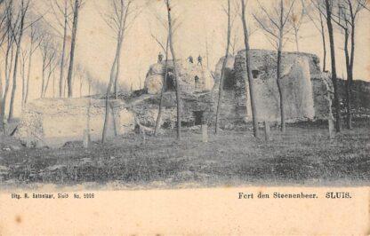 Ansichtkaart Sluis (ZL) Fort den Steenenbeer Zeeuws-Vlaanderen HC17530