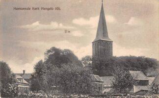 Ansichtkaart Hengelo (GD) Hervormde Kerk 1918 HC17564