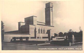 Ansichtkaart Hilversum Raadhuis W.M. Dudok K.N.A. 15 Fotokaart HC17578