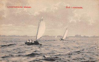 Ansichtkaart Loosdrecht Loosdrechtsche Plassen Oud Loosdrecht Zeilen 1927 HC17579