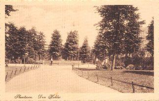 Ansichtkaart Den Helder Plantsoen 1923 HC17580