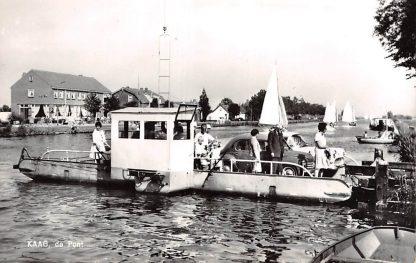 Ansichtkaart De Kaag de Pont Veer 1966 hc17582
