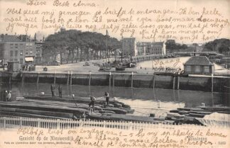 Ansichtkaart Vlissingen Gezicht op de Nieuwendijk 1905 HC17603