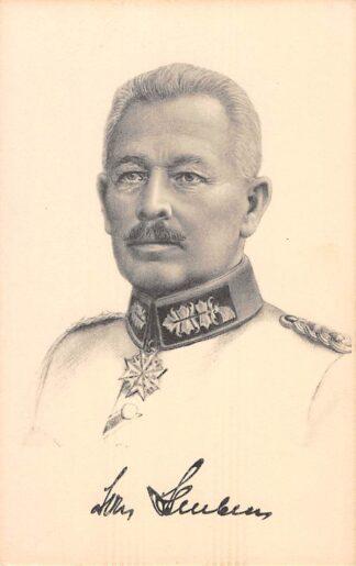 Ansichtkaart Duitsland Generalleutnant Von Stein Militair 1914-1918 WO1 Deutschland Europa HC17608