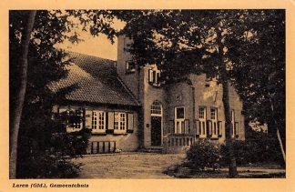 Ansichtkaart Laren (GD) Gemeentehuis HC17614
