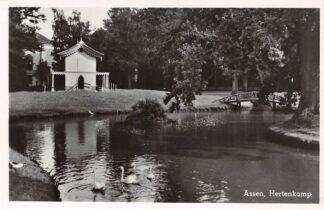 Ansichtkaart Assen Hertenkamp 1949 HC17662