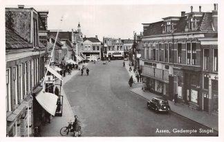 Ansichtkaart Assen Gedempte Singel 1949 HC17672