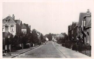 Ansichtkaart Assen Wilhelminastraat 1948 HC17673