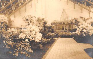 Ansichtkaart Aalsmeer Fotokaart Groote Bloemententoonstelling April 1930 Tentoonstellingsstempel HC17685