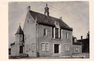 Ansichtkaart Hardinxveld-Giessendam Giessendam Gemeentehuis 1949 HC17716