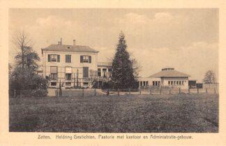 Ansichtkaart Zetten Heldring-Gestichten Pastorie met kantoor en Administratie-gebouw Betuwe HC17723