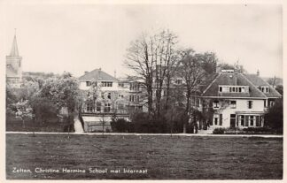 Ansichtkaart Zetten Christine Hermine School met Internaat Betuwe HC17725