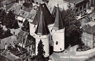Ansichtkaart Kampen Koornmarktspoort 1967 KLM Luchtfoto no. 30481 HC17730